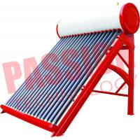 Buy cheap Portable Non Pressurized Solar Water Heater Non Pressurized Vacuum Tube 200L product