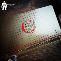 Buy cheap Excellent Quality Innovative Customized PVC Thank You Gift Card product