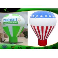 Buy cheap Rainbow Colors Ground Ball Inflatable Advertising Balloons With Logo product