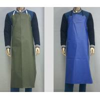 China Customized Waterproof Industrial Protective Clothing Aprons PVC Leather Fluid Resistant on sale
