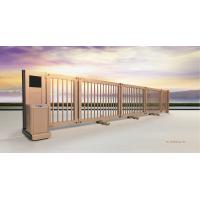 Buy cheap Telescopic Powder Coating Electric Cantilever Sliding Gates 433MHz product