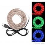 Buy cheap 50cm/ 1m/ 2m Waterproof RGB 5050 SMD USB 30LED Strip Light String Lamp DC 5V product