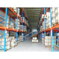 Conventional Galvanized Pallet Racking Weight Capacity 2.5 Ton For Textile Industry