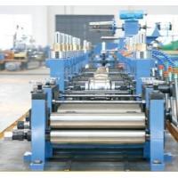 Quality High Frequency GB700-88 Straight Seam Welded Tube Mill Line ZG60 for sale