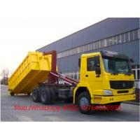 Buy cheap Diesel Garbage Compactor Truck , Detachable Container Compression Garbage Collector from wholesalers