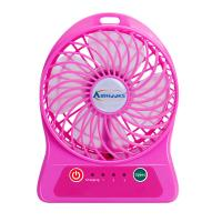 Buy cheap mini portable USB fan with 4 colors, newest mini Fan with usb charging and rechargeable 18650 battery powered from wholesalers