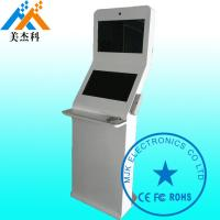 Buy cheap Windows Os Shockproof Free Standing Digital Signage Kiosk 32 Inch Double Screen product