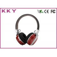 China Wireless Noise Cancelling Headphones , Bluetooth Stereo Headphones Headband Style on sale
