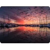 Quality Customized Eco-Friendly 0.6mm PET 3D Lenticular Dining Placemat For Kitchen & for sale