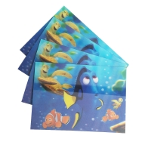 Buy cheap 75PI 0.45MM PET lenticular 3D lenticular printing glitter postcard /3D lenticular printing Christmas Cards gift product