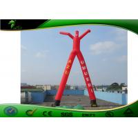 Buy cheap Giant 2 Legs Inflatable Air Dancers / Red Inflatable Wave Man Sky Dancer For Outdoor product