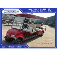 Buy cheap Fuel Type Esix Seater Electric Car , Club Precedent Golf Cart 80km Range product