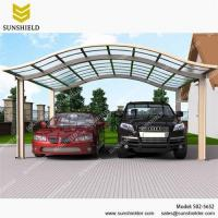 China Aluminum Canopy Parking with Polycarbonate Panel/S02-5652/Aluminum carport/Gazebos & Canopies on sale
