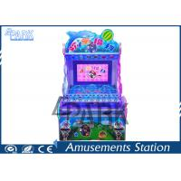 Buy cheap Attractive Dolphin Design Redemption Game Machine Happy Pitch Balls For Kids product