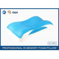 Buy cheap Best Memory Foam Cool Wave Contour Side Sleeper Pillow with Luxury Tencel Pillow Cover product