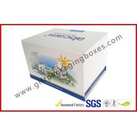 Quality Fashion Coated Paper Board Box, Rectangle Printed Rigid Gift Boxes For With Custom Logo for sale