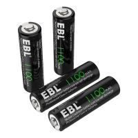 Buy cheap 1100mAh AA Rechargeable Batteries, 1.2V NiCd Rechargeable Battery product