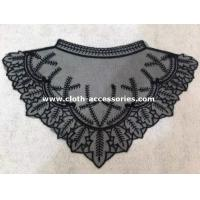 Buy cheap Triangle Crochet Collar Necklace / Embroidery Lace Collar For Floral Print Shirt product