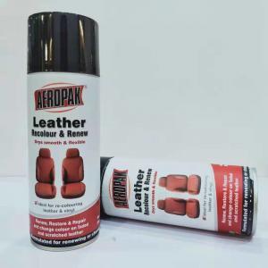 Buy cheap 390g Waterproof Spray Paint Leather / Carpet / Vinyl / Hard Plastic Refinisher product