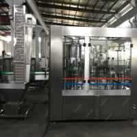 Buy cheap Pet Glass Bottle Automatic Water Filling Machine PLC Control 10000bph Production from wholesalers