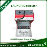 Quality 100% Original Genuine Launch CNC-602A Injector Clean Machine Simultaneously 220V with English Panel Free Shipping for sale