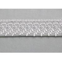 Buy cheap Retro Floral Venice Trim Edging Border Polyester Lace Ribbon For Bridal Gown product
