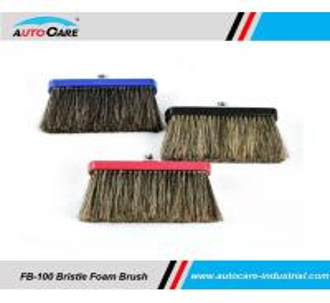 Buy cheap 100% Hog Hair Car Wash Foam Brush with Aluminium head/  Soft Bristle Shampoo brush with water through product