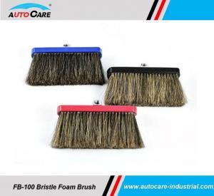 Buy cheap Soft 100% Natural Hog Hair Bristle Brush Set with Soap car wash brush product