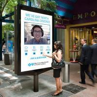 Buy cheap Way finding Kiosk with Nano Touch Outdoor Digital Signage  2500 nits IP 65 product