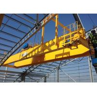 Buy cheap CE ISO Certificated Electric Top Running Double Girder Overhead Crane Bridge Crane Manufacturer from wholesalers