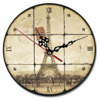 China Round Personalized Clocks With Pictures , White Personalized Wall Clock Gifts on sale