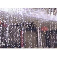 Buy cheap 110 Volt LED Curtain Lights , 6x3m Outdoor Wedding Curtain String Lights product