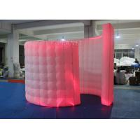 Buy cheap Spiral Blow Up Photo Booth Two Doors With Doorway -20 To 60 Degrees Working Temp product