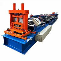 Buy cheap Automatic CZ interchange Steel Purlin Profile Roll Forming Machine product