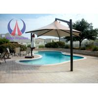 Buy cheap Strong Wind Resistant Sail Umbrella Shade Structures With Metal Frame product