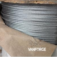 Buy cheap 1x19 construction AISI 316 marine grade stainless steel wire rope for offshore platform product