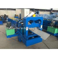 Buy cheap Prepainted Steel Roof Ridge Sheet Roll Forming Machine Fully Automatic product