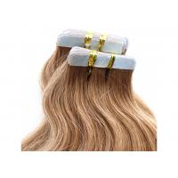 Buy cheap Comb Easily Smooth Double Tape Hair Extensions 100% Unprocessed Long Lasting product