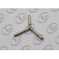 Buy cheap Knurling Nickel Plating Turned Metal Parts Lathe Finishing Round Head Copper Pins from wholesalers