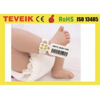 Buy cheap Hospital disposable medical rfid  wristband for newborn baby identification product