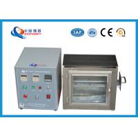 Buy cheap 38 MM Flame Height Flammability Testing Equipment For Automobile Interior Material product