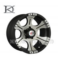 Buy cheap Light Replica Vossen 1 Piece Forged Wheels Reduce Tire Wear Black Truck Wheels product