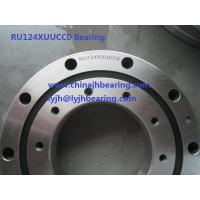 Buy cheap To order Crossed roller bearing  RU124XUUCC0   80X165x22mm both side seal,in stock product