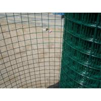 Buy cheap Economic Green PVC Coated Wire Mesh Rolls , Welded Wire Fence For Fencing product