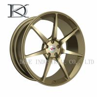 Buy cheap Gloss Black Aluminum Forged Wheels , Machined Aluminum Wheels For Car product
