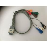 Buy cheap Compatible edan SE2003/ SE2012 bi9800/9000 ecg leads holter  cable from wholesalers