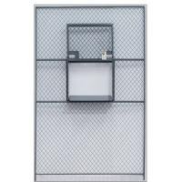 Buy cheap Sliding Service Security Wire Mesh Window Guard , Wire Mesh Security Panels For Windows product
