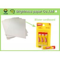 Colorful Printed Cardboard Sheets , Sbs Paper Board For Stationery Packing