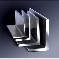Buy cheap Galvanized Steel Angle , Aluminum Angle Bar Low Carbon Hardened Steel product