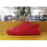 Buy cheap 36-41 PU upper rubber outsole lace up casual skateboard shoes for women from wholesalers